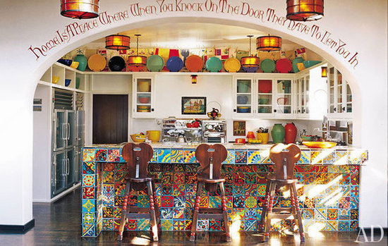 Eclectic kitchen inspiration house of ana s for Funky kitchen accessories uk